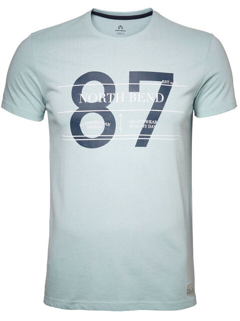 North Bend College - T-shirt manches courtes Homme - bleu